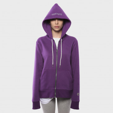ZIP UP HOOD GREY NEW GRAPPE TERRY