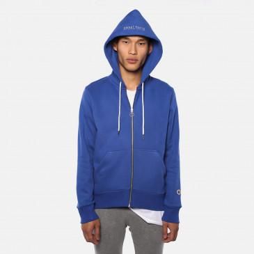 ZIP UP HOOD BLEU SUPREME TERRY