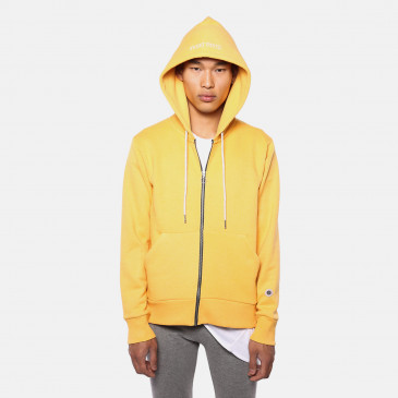 ZIP UP HOOD BECK GOLD