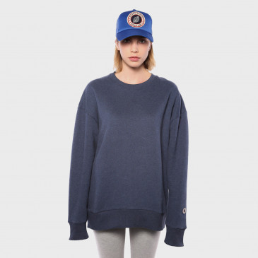 OVER CREW NAVY MARL