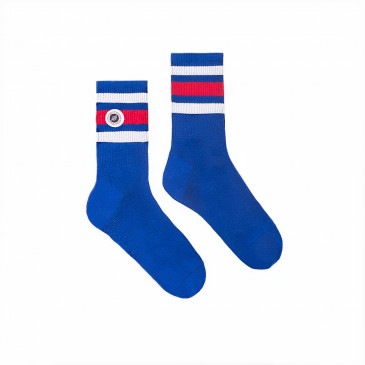 Chaussette STRIP SOCKS-BLEU SUPREME