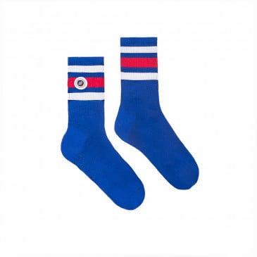 STRIP SOCKS BLUE SUPREME