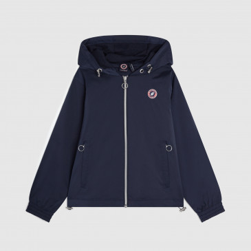 TACTEL HOOD NAVY KID