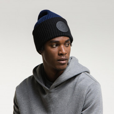 2 TONES BIG BEANY BLACK/NAVY