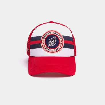 BROOKLYN CAP RED