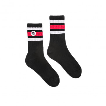 STRIP SOCKS BLACK