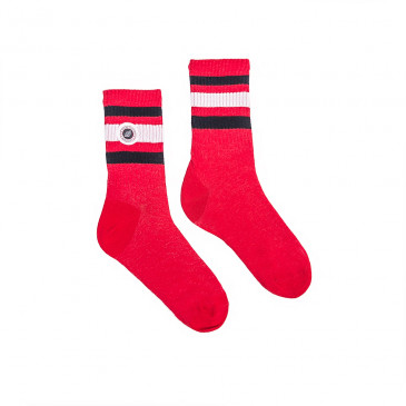 Chaussette STRIP SOCKS-RICK RED