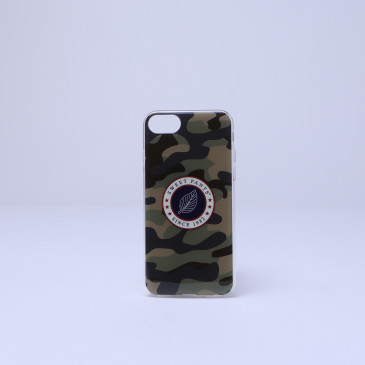 COQUE IPHONE 6-7-8 & Plus CAMOUFLAGE KAKI