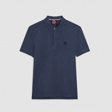 POLO NAVY MARL KID