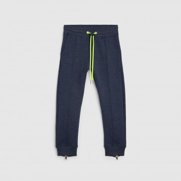 ATHLETIC NAVY MARL KID