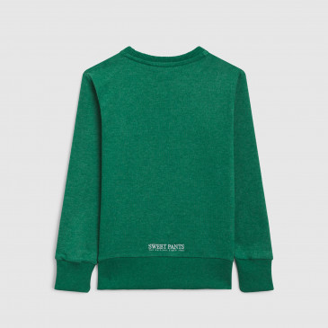 CLASSIC CREW KID MINT MARL TERRY
