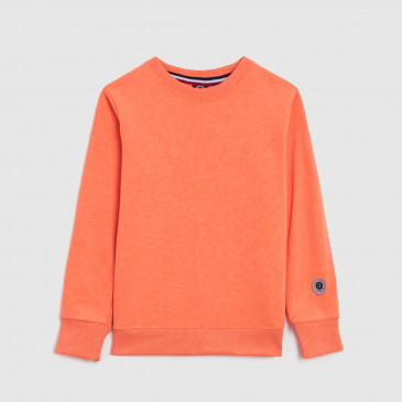 CLASSIC CREW KID NEON ORANGE TERRY