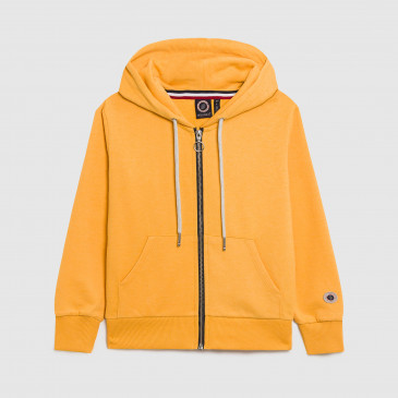 ZIP UP HOOD KID BECK GOLD TERRY