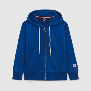 ZIP UP HOOD KID BLEU SUPREME TERRY