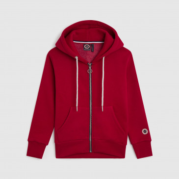 ZIP UP HOOD DARK BLOOD KID