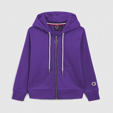 TKID ZIP UP HOOD PURPLE