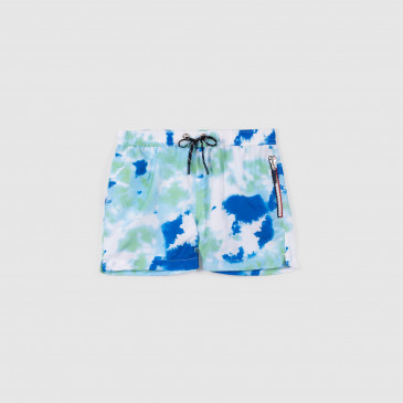 KIDS HAPPY PRINT TIE & DYE LAGOON