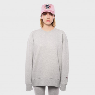 OVER CREW GREY MARL