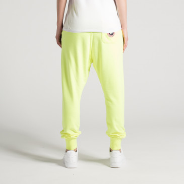 LOOSE NEON YELLOW TERRY