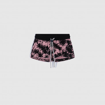 KID SHORTY PRINT JACKSON PINK