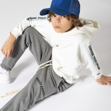 KID PRODUCT JOGG GREY MARL