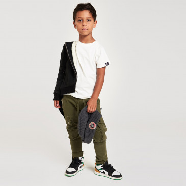 KID WARRIOR VINTAGE K KAKI