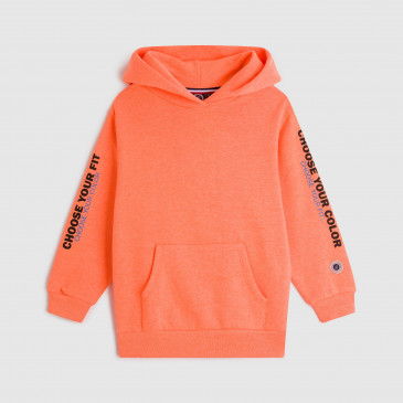 KID PRODUCT HOODIE ORANGE FLUO