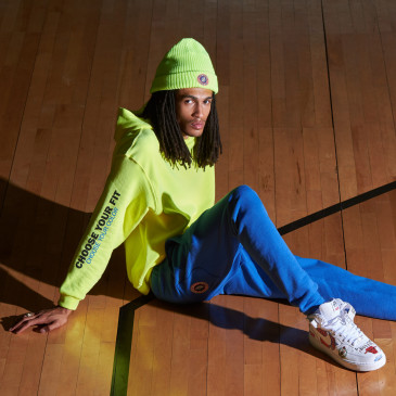 PRODUCT HOODIE YELLOW FLUO