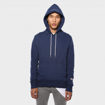 CLASSIC HOOD DENIM TERRY