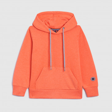 CLASSIC HOOD KID NEON ORANGE TERRY