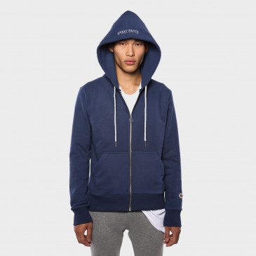 ZIP UP HOOD DENIM