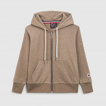 ZIP UP HOOD KID MALTE TERRY