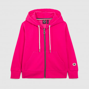 ZIP UP HOOD KID RUBIS TERRY
