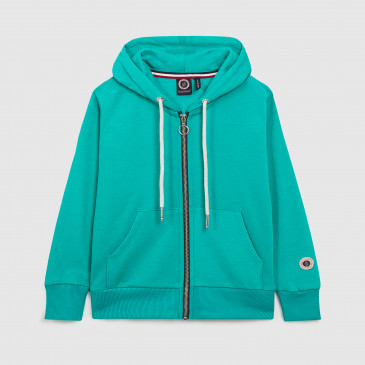 ZIP UP HOOD KID SAPHIR TERRY