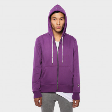 ZIP UP HOOD NEW GRAPPE TERRY