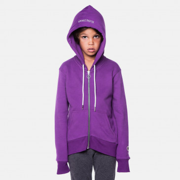 KID ZIP UP HOOD NEW GRAPPE