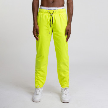 TACTEL PANT YELLOW FLUO