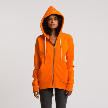 ZIP UP HOOD CITRUS