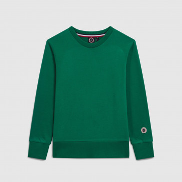 CLASSIC CREW KID MINT TERRY
