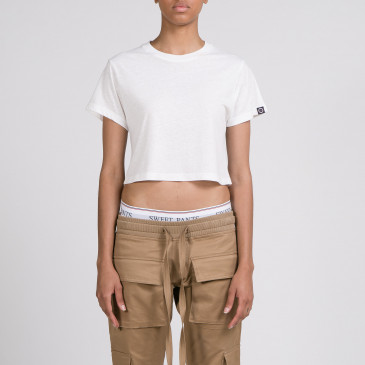 CROP EASY OFF WHITE