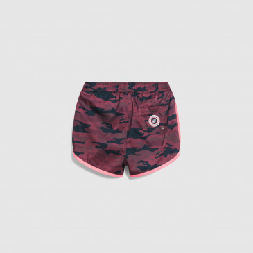 HOLIDAY KID CAMOUFLAGE BORDEAUX-NEON PINK