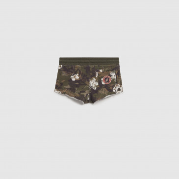 SHORTY KID JUNGLE CAMO