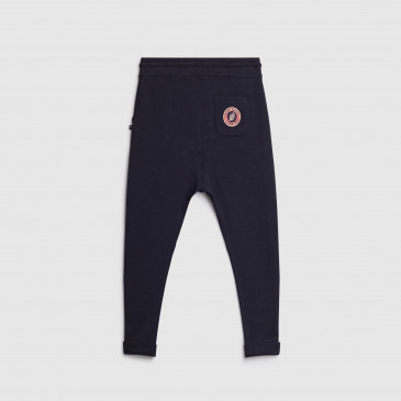 TROUSER NAVY KID