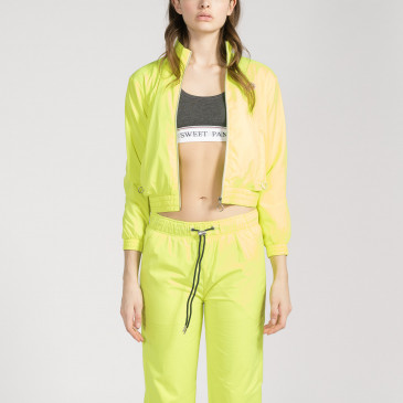 TACTEL CROP YELLOW FLUO