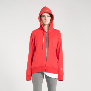 ZIP UP HOOD CANDY TERRY