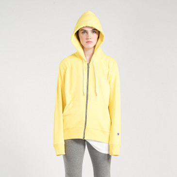ZIP UP HOOD TOPAZE TERRY