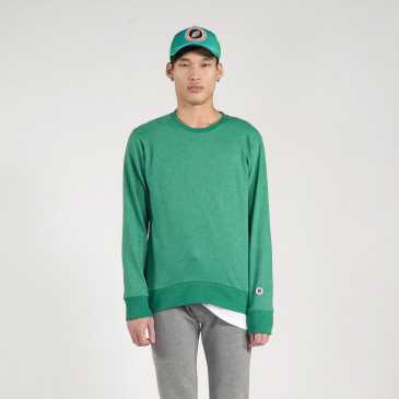 CLASSIC CREW MINT MARL TERRY
