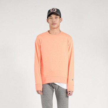 CLASSIC CREW NEON ORANGE TERRY