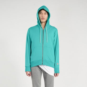 ZIP UP HOOD SAPHIR TERRY