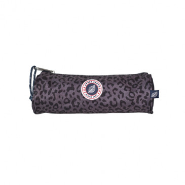 TUBE LEOPARD BLACK